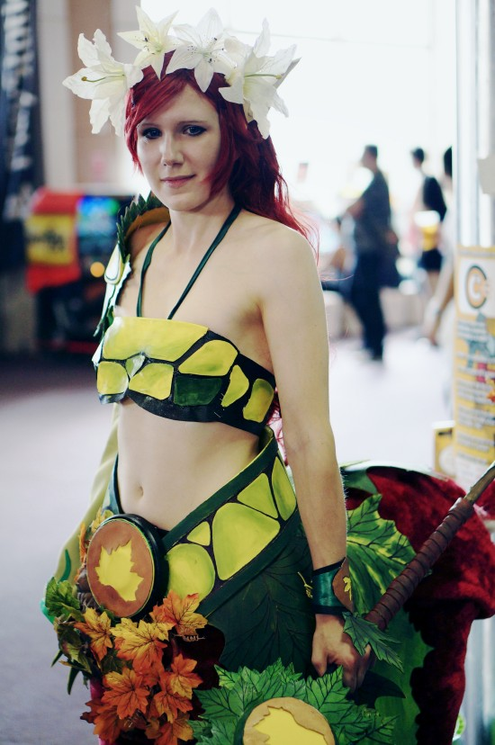 Enchantres (the centaur) from DOTA 2 cosplay @ Comics Salon 2014