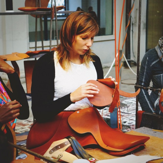 Hermes Paris Saddle Manufacturing @ Festival des Metiers at the Spanish Riding School Vienna