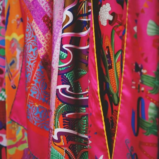 Hermes Paris Printed Silk @ Festival des Metiers at the Spanish Riding School Vienna