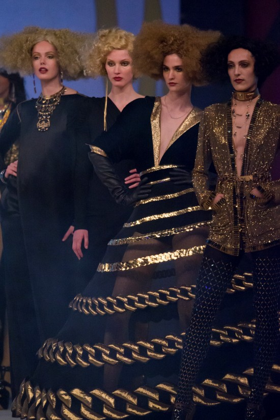 Fashion show by Jean Paul Gaultier @ Life Ball 2015