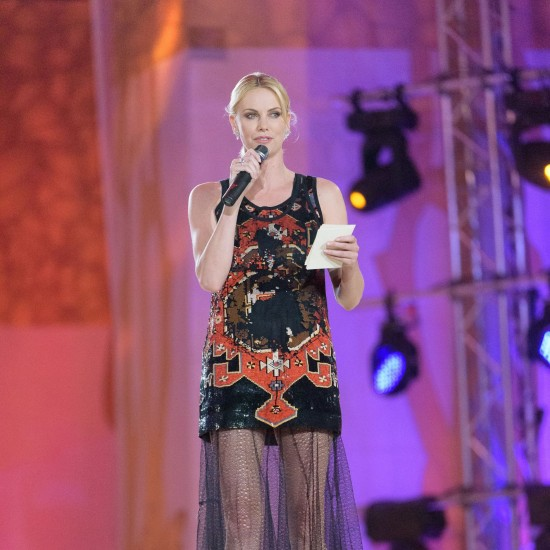 Charlize Theron @ Life Ball 2015