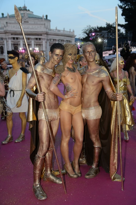 Golden warriors @ Life Ball 2015