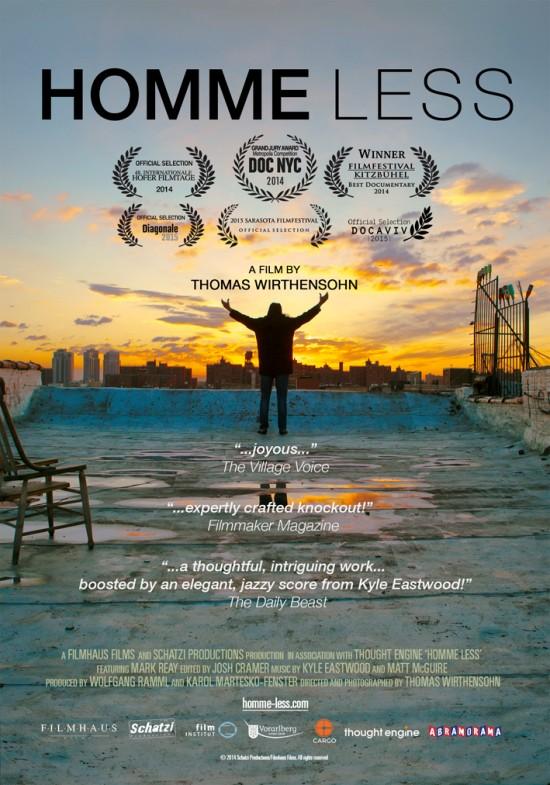 Homme Less documentary film poster