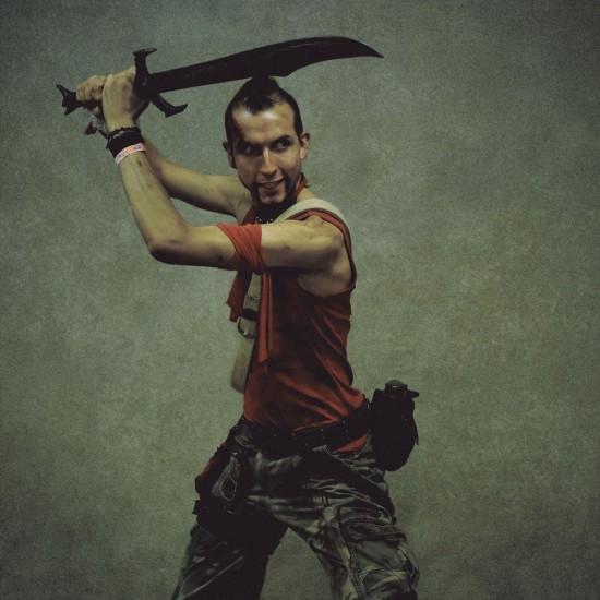 Far Cry 3 Vaas Cosplay @ Game City