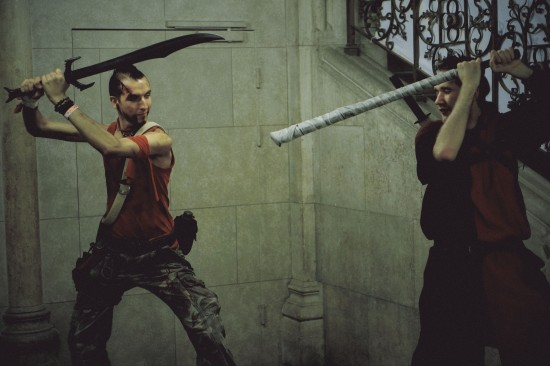 Far Cry 3 Vaas Cosplay @ Game City