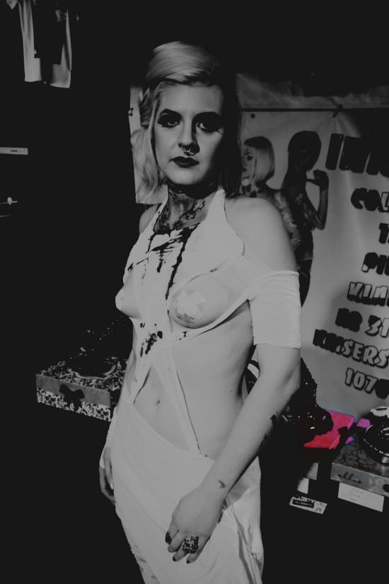 Halloween Corset Piercing @ 666 Hell-O-Wien
