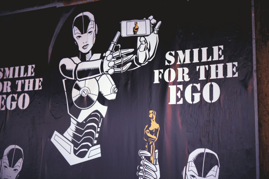 Smile for the Ego, Blakhat poster, Los Angeles