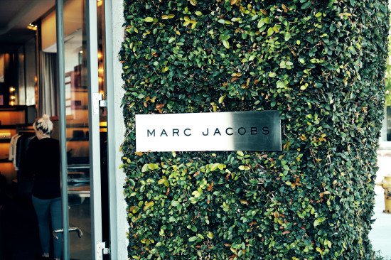 """Marc Jacobs"" high fashion store in Beverly Hills, Los Angeles"