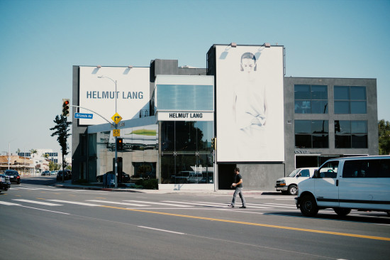 Helmut Lang at Melrose Avenue, Los Angeles