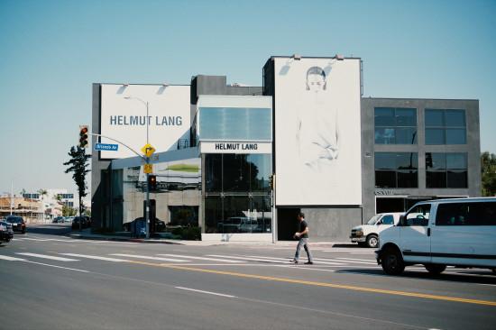 Helmut Lang at Melrose Avenue, Los Angeles