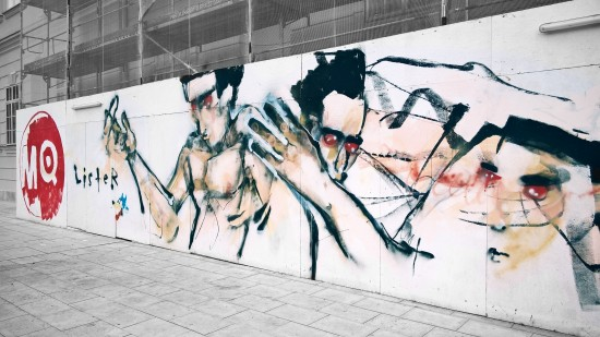 Street Art by Anthony Lister @ MQ Wien