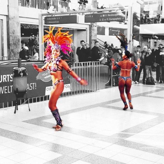 Samba Show @ BahnhofCity Wien West / Westbahnhof