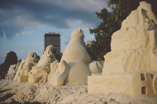 Sand Sculpture Festival: Ruse Sandfest 2015