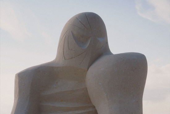 """Siderman"" sand sculpture by Rasho Mitev (Bulgaria) @ Ruse Sandfest 2015"
