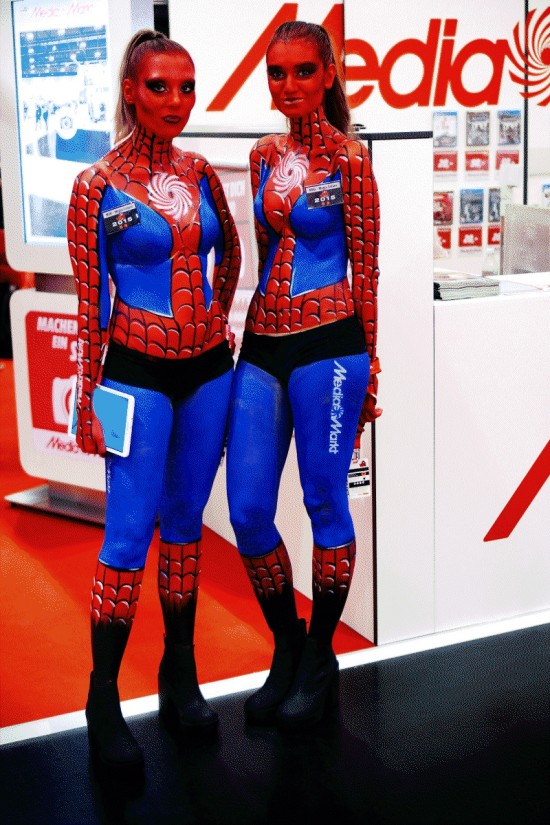 Media Markt Spider-Girls @ Vienna Comic Con