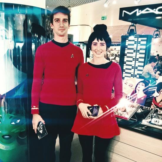 MAC Star Trek makeup @ Gerngross Vienna