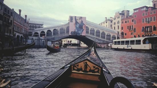 Venice Gondola Ride, Rialto Bridge
