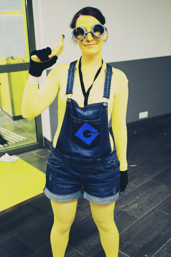 Minions cosplay outfit @ AniNite Austria
