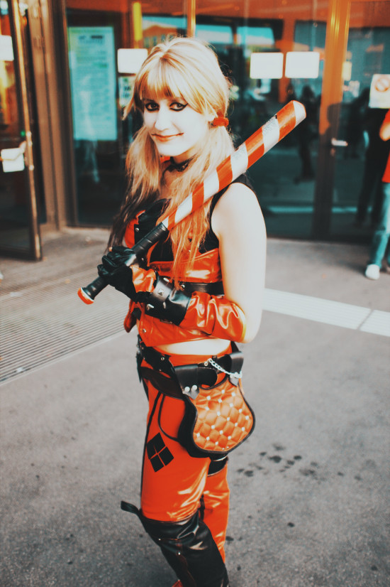 Harley Quinn cosplay outfit @ AniNite Austria