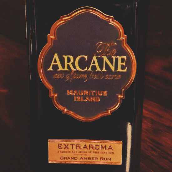 Arcane Dark Rum Bottle: The art of pure fresh cane