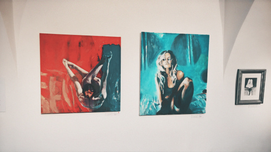 Erotic Paintings by Ewa Mazur-Koj @ Erotica Vienna