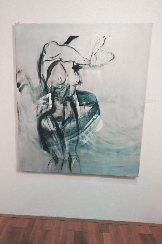 Erotic Painting by Claudia Christof @ Erotica Vienna