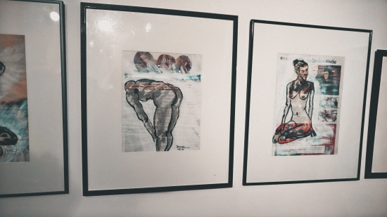 Erotic Collage by Peterl Wolfgang @ Erotica Vienna