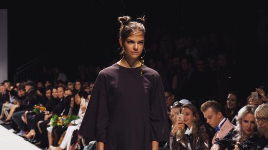 Lalalove Semi-Transparent Surprise Dress @ MQ Vienna Fashion Week 2017