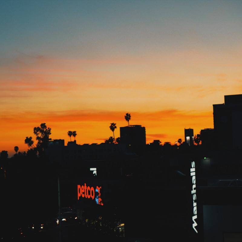 5 beautiful sunset pics of los angeles goldenhour viki for Beautiful in los angeles