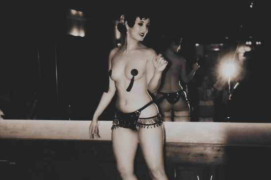 The Big Speakeasy Burlesque Performance and Fire Show @ Kruger's American Bar Vienna