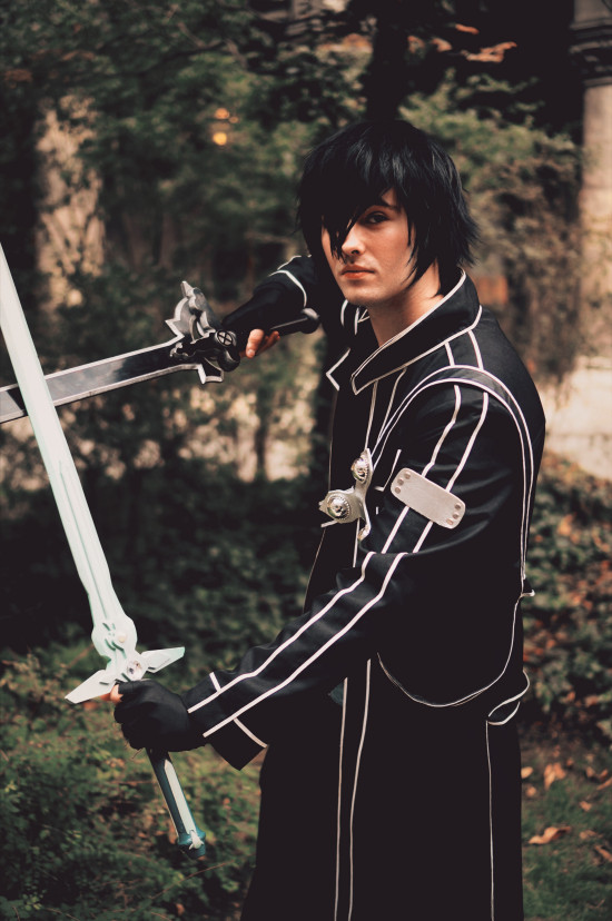 Sword Art Online Kirito Cosplay @ Game City