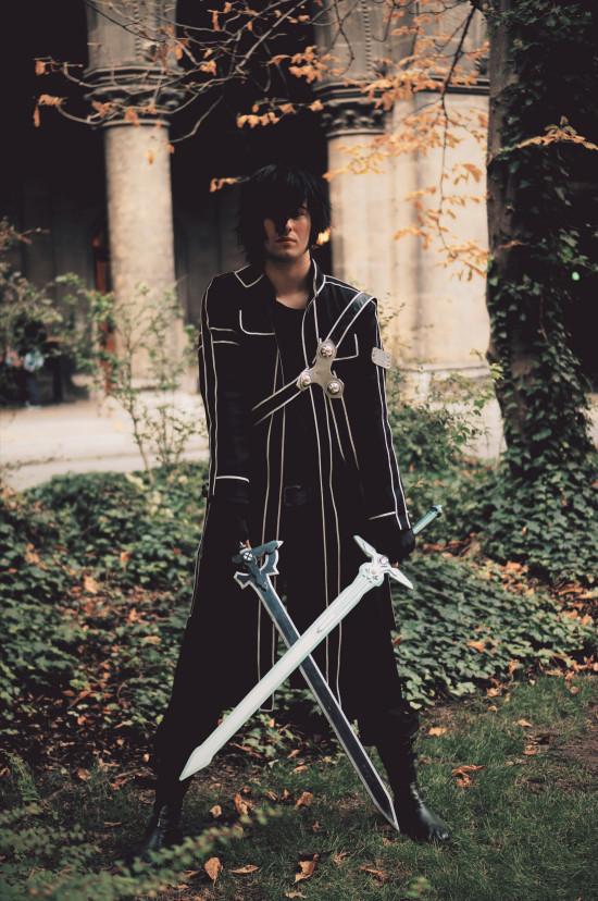 Sword Art Online Kirito Cosplay @ Game City