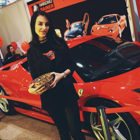 Ferrari 458 (Fahrschule Rainer) @ Vienna Auto Show 2017