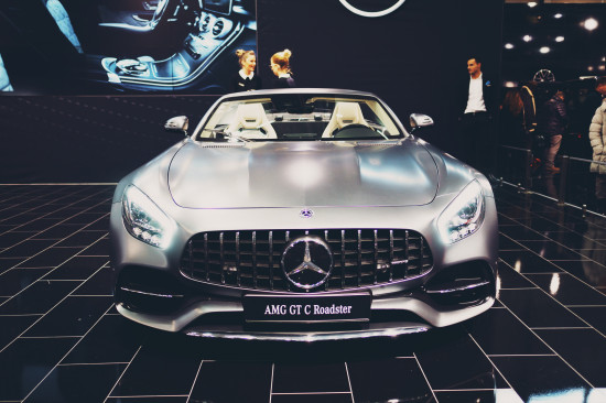 Mercedes AMG GT C Roadster @ Vienna Auto Show 2017