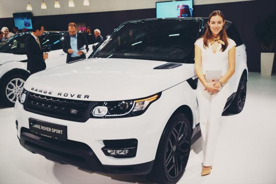 Range Rover Sport @ Vienna Auto Show 2017