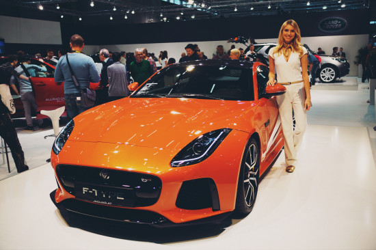 Jaguar F-Type SVR @ Vienna Auto Show 2017