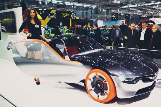 Opel GT Concept Car @ Vienna Auto Show 2017