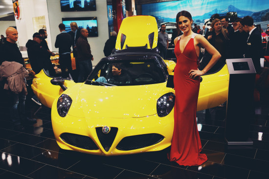 Alfa Romeo 4C @ Vienna Auto Show 2017