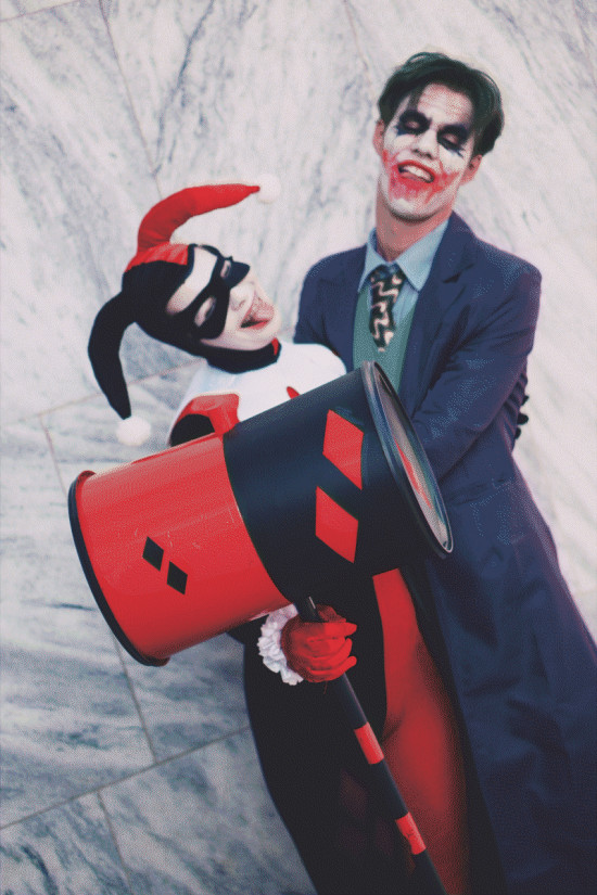 Harley Quinn and Joker Cosplay @ Comics Salon Bratislava