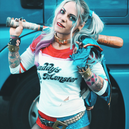 Harley Quinn Suicide Squad Cosplay @ Vienna Game City