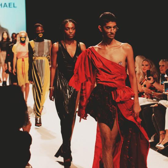 Karl Michael Fashion Show @ MQ Vienna Fashion Week 2018