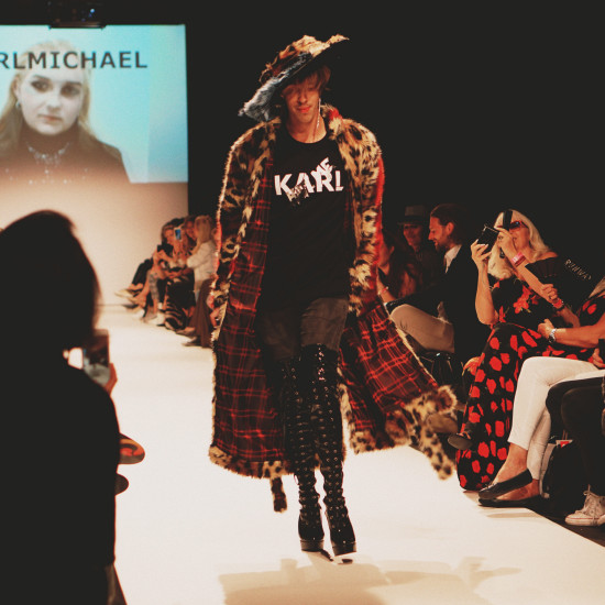 Fashion Designer Karl Michael @ MQ Vienna Fashion Week 2018