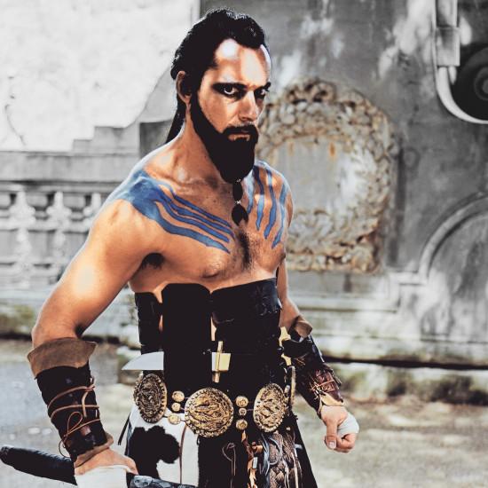 Khal Drogo Cosplay Game Of Thrones @ Unicorn Festival