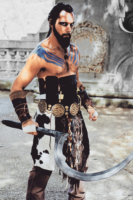 Khal Drogo Cosplay Game Of Thrones @ Unicorn Festival