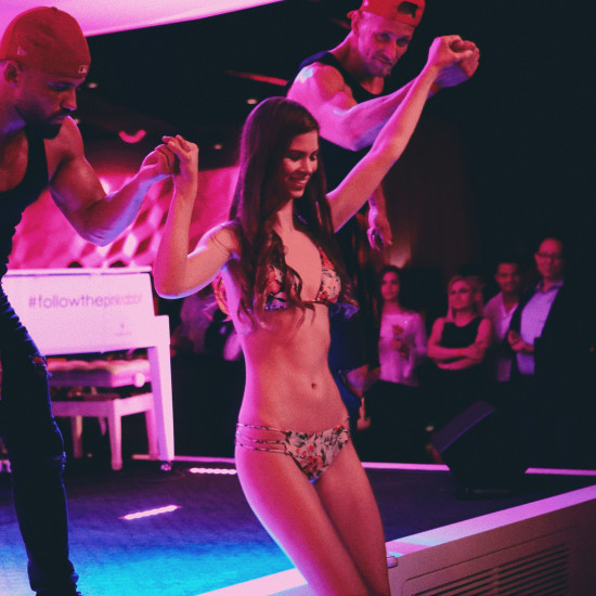Luxele Swimwear Fashion Show @ Albertina Passage Wien