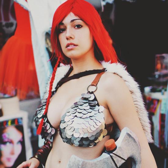 Red Sonja Cosplay @ Vinci Unicorn Festival