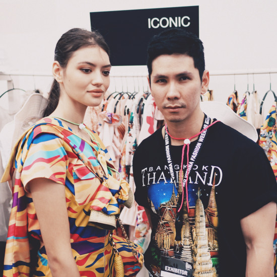 Thai designer iCONiC @ Vienna Fashion Week 2018