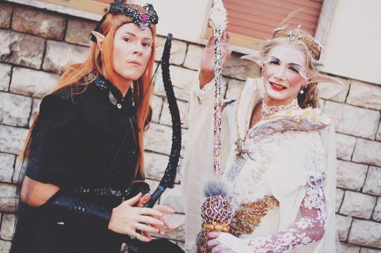 Two beautiful elves @ Vinci Unicorn Festival