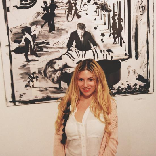 Christina Noelle @ Vernissage Grenzenlos V Galerie Contemplor