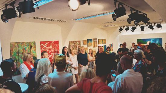 Vernissage Grenzenlos V @ Galerie Contemplor